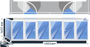 Балкон П-образный_2