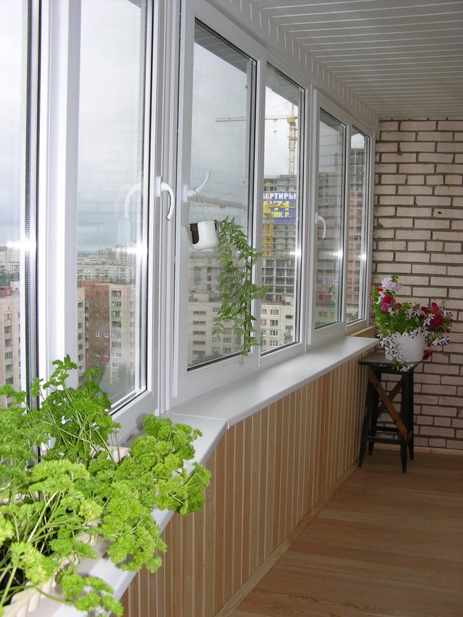 Балкон 2 (пр. просвещения).