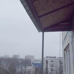 Крыша над балконами