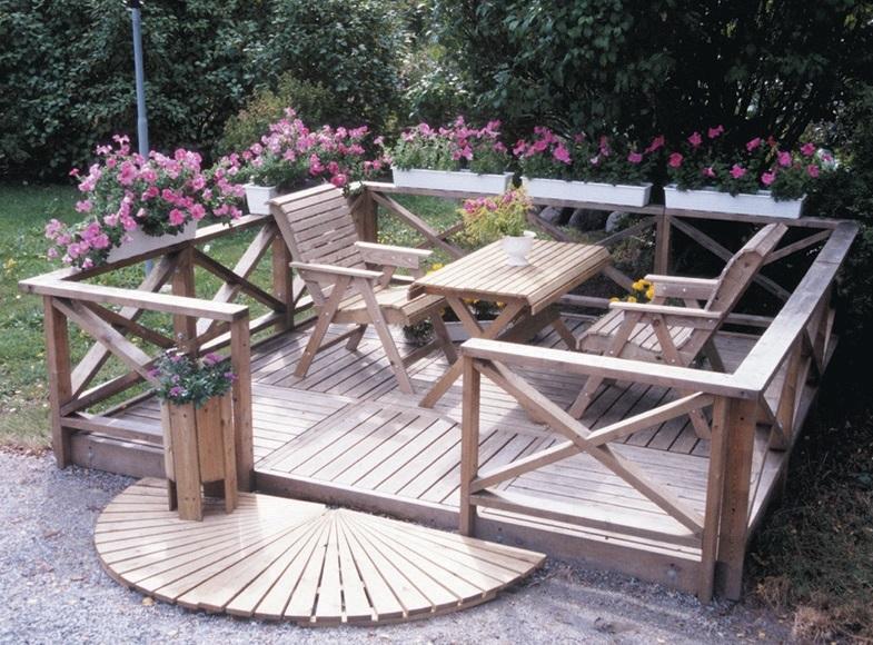 Как сделать веранду в саду