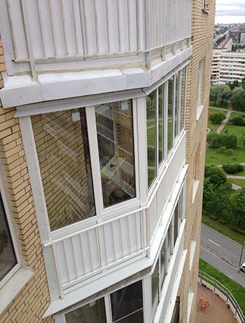 Балкон на Будапештской