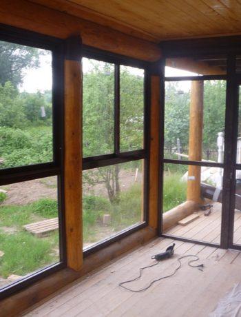 Окна в рубленом доме